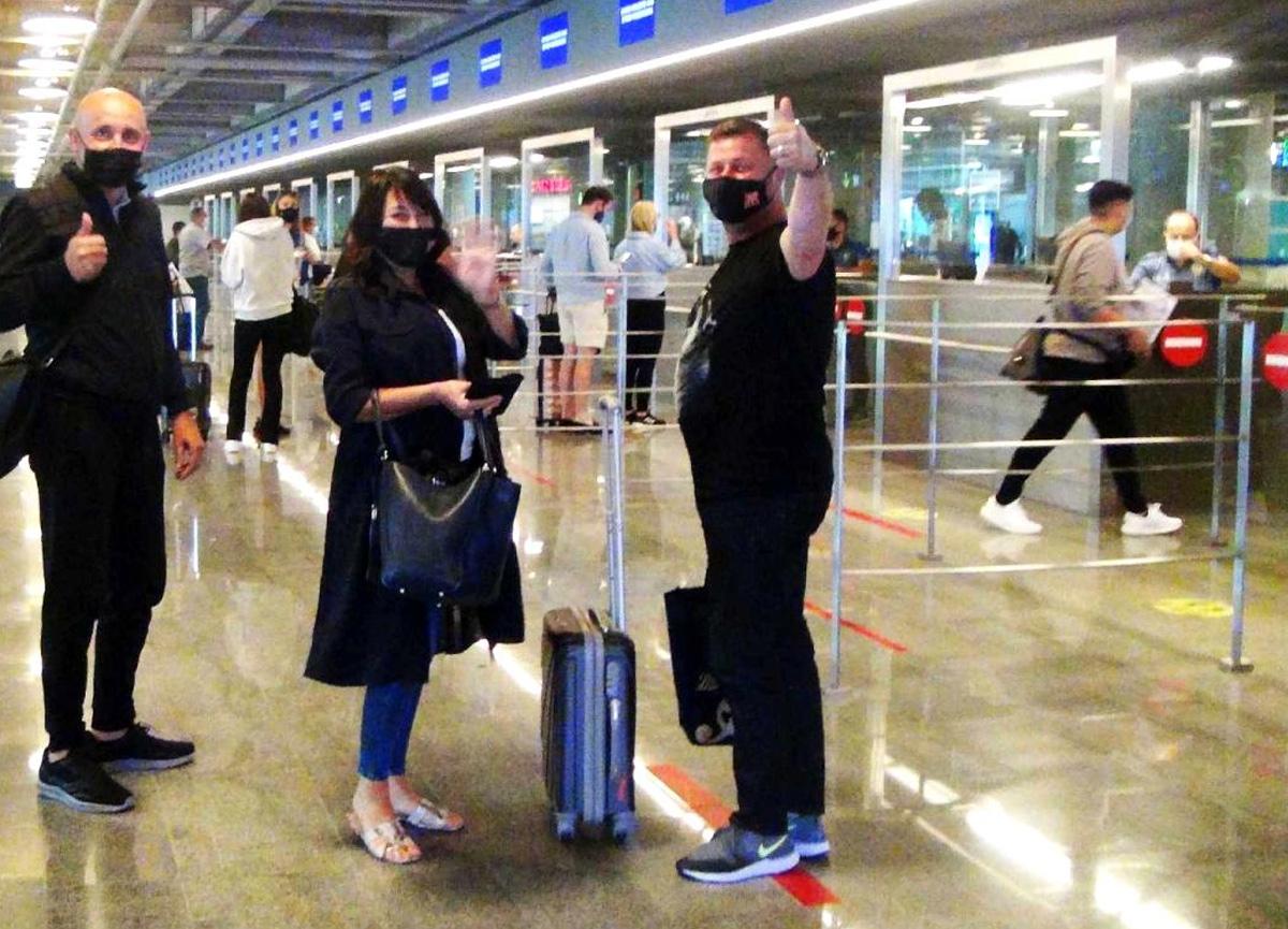 1 yıllık aranın ardından ilk İngiliz turist kafilesi Muğla'ya geldi