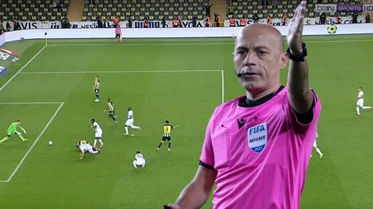 Fenerbahçe - Giresunspor maçına Cüneyt Çakır damgası: Gölge düşürdü...