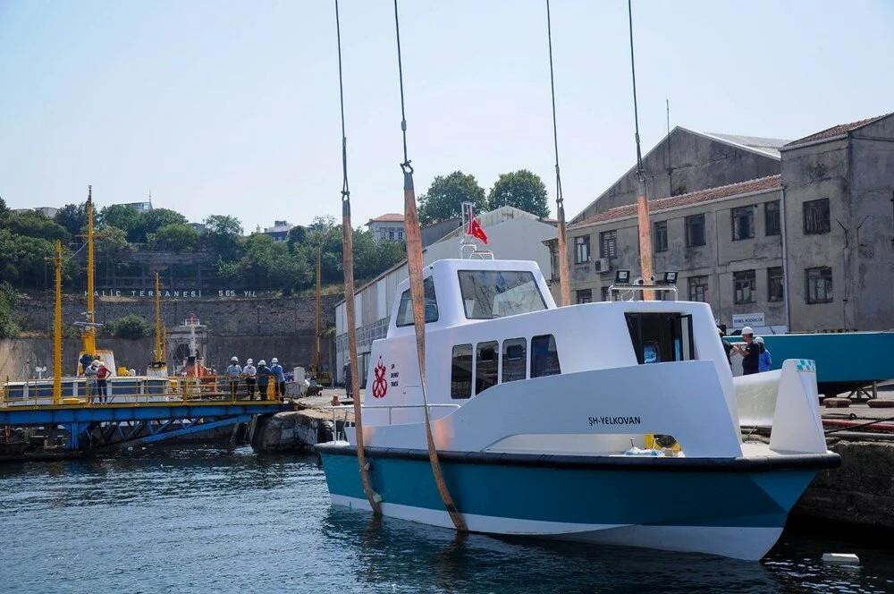 İstanbul'da yeni deniz taksiler suya indi