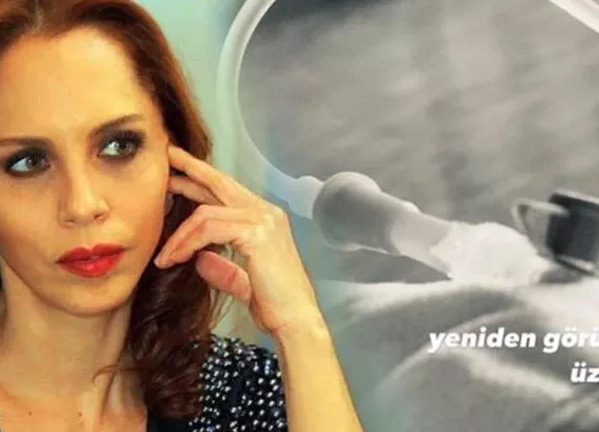 Şarkıcı Sertab Erener hastanelik oldu!