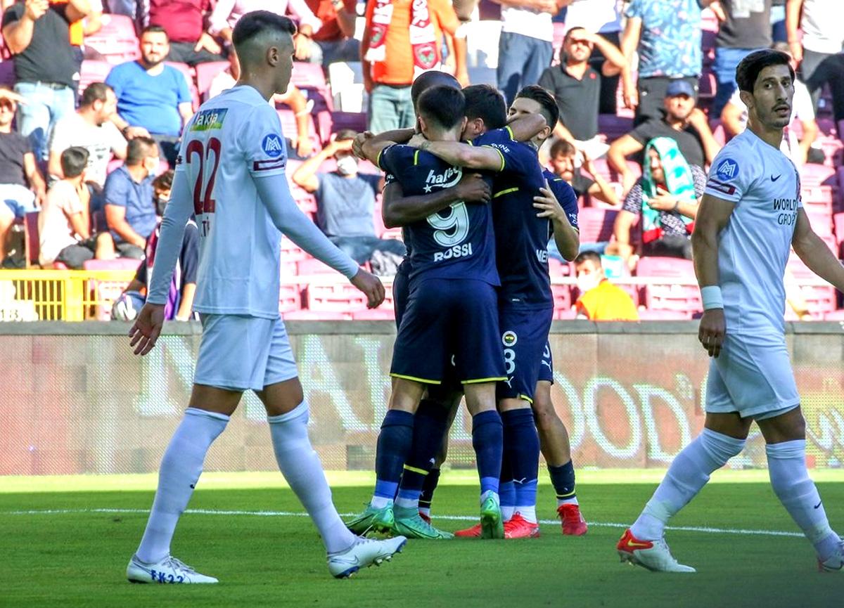 Fenerbahçe, Hatay deplasmanından 3 puanla döndü