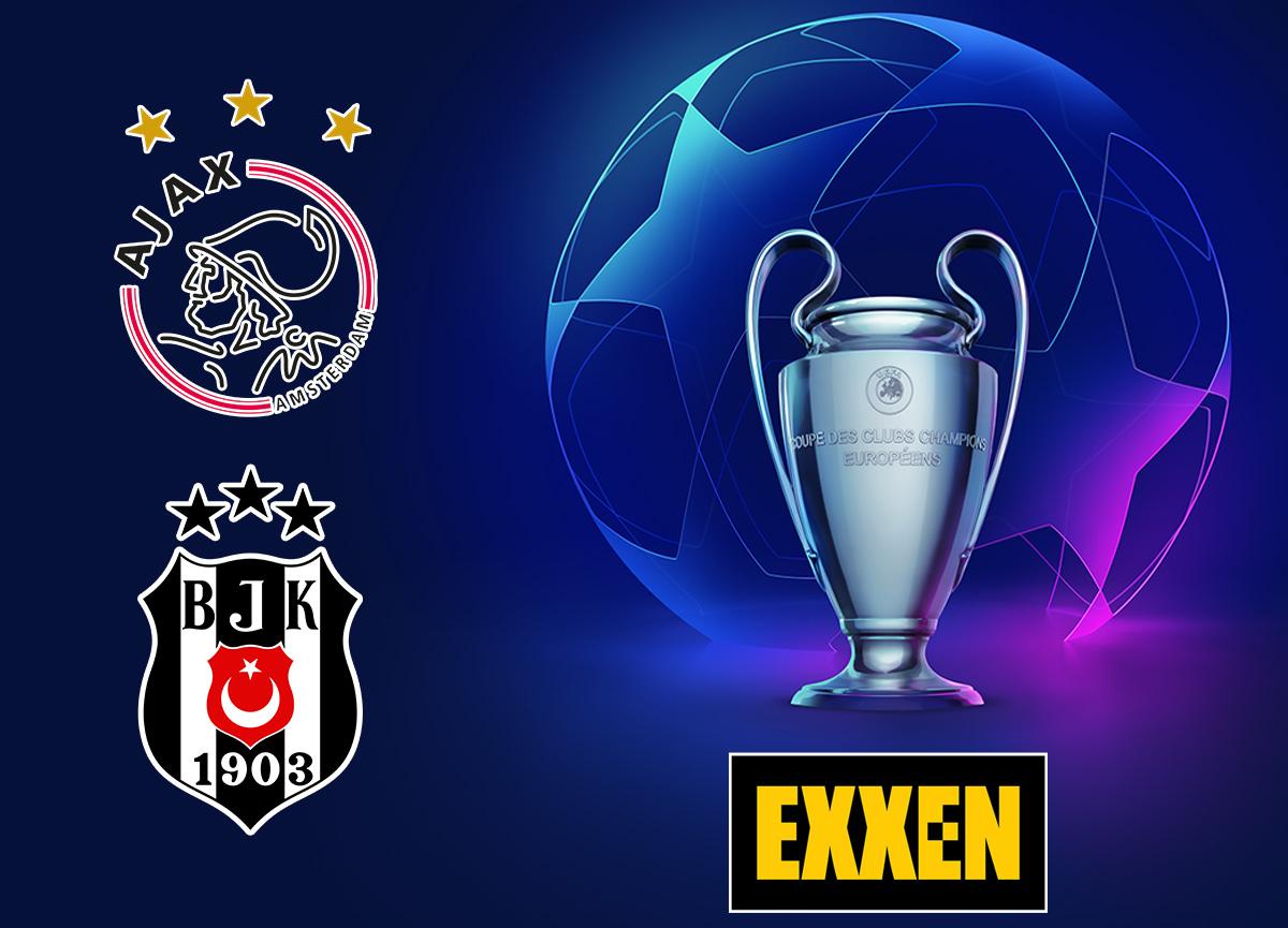 Şampiyonlar Ligi'ndeki Ajax-Beşiktaş maçı Exxen'de!