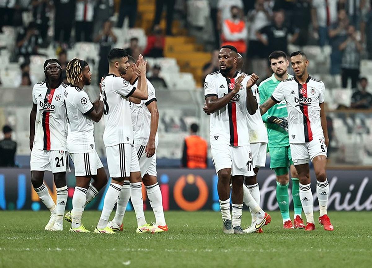 Beşiktaş'ın Şampiyonlar Ligi'ndeki Ajax maçı kamp kadrosu belli oldu