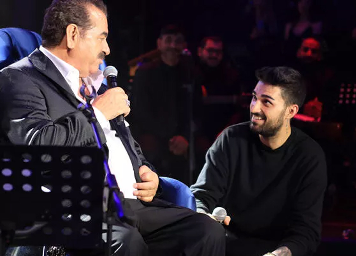 Ünlü şarkıcı İbrahim Tatlıses'ten muhteşem final