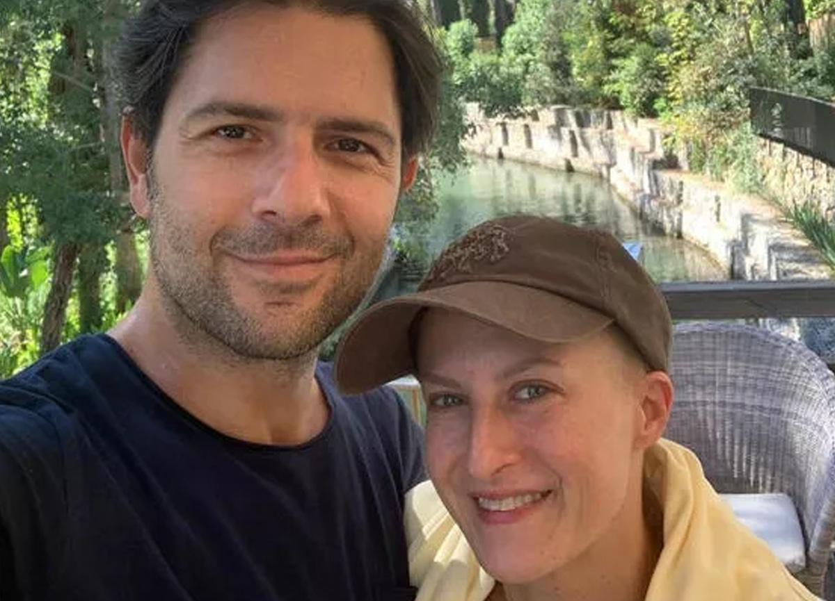 Canan Ergüder ve eşi Kenan Ece tatile çıktı
