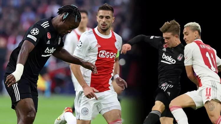 Ajax-Beşiktaş maçının ardından Hollanda basınından olay manşet!