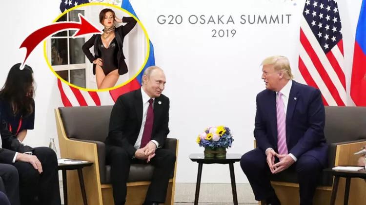 Putin'in çevirmeni dünyayı salladı! Skandal patlayınca Instagram'ını kapattı