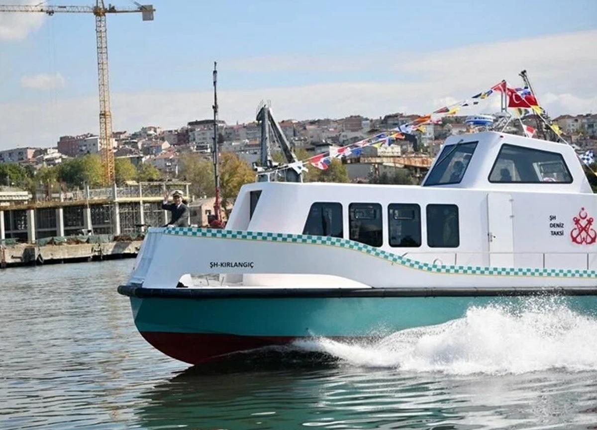 Deniz taksi ücretleri belli oldu! 10 kişilik, açılış ücreti 100 TL