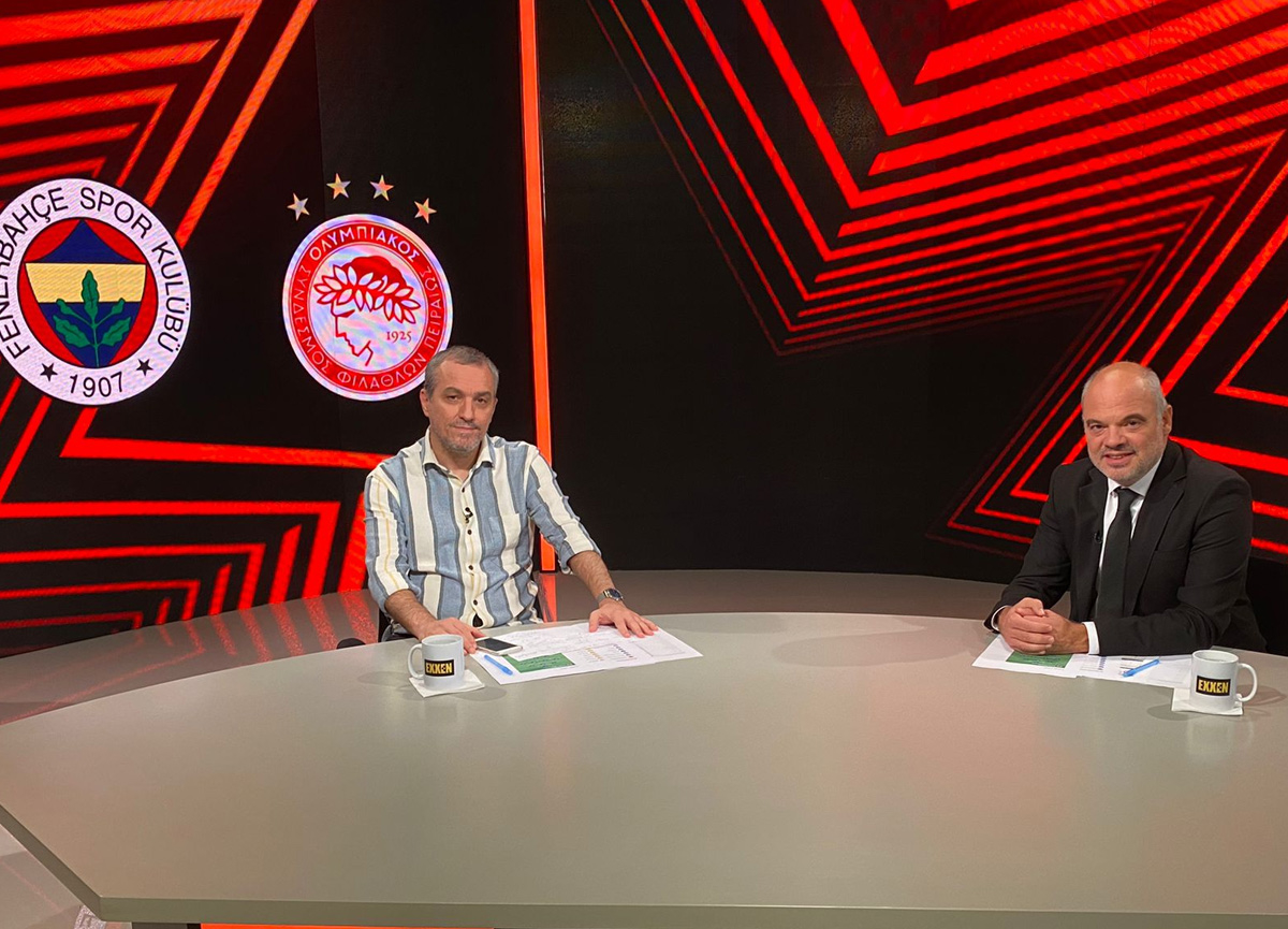 Göktuğ Sevinçli, Altan Tanrıkulu ile birlikte Exxen'de Fenerbahçe-Olympiakos maçını yorumlayacak