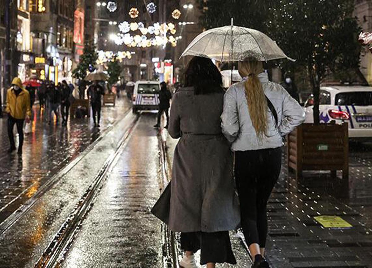 Meteoroloji'den o kentler için sağanak yağış uyarısı geldi!