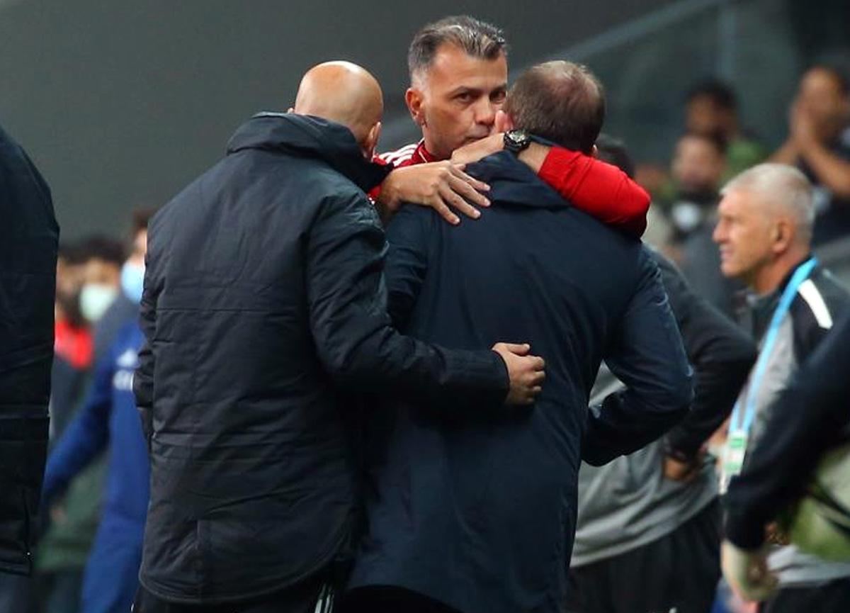 Sergen Yalçın, Sivasspor maçında kırmızı kart gördü