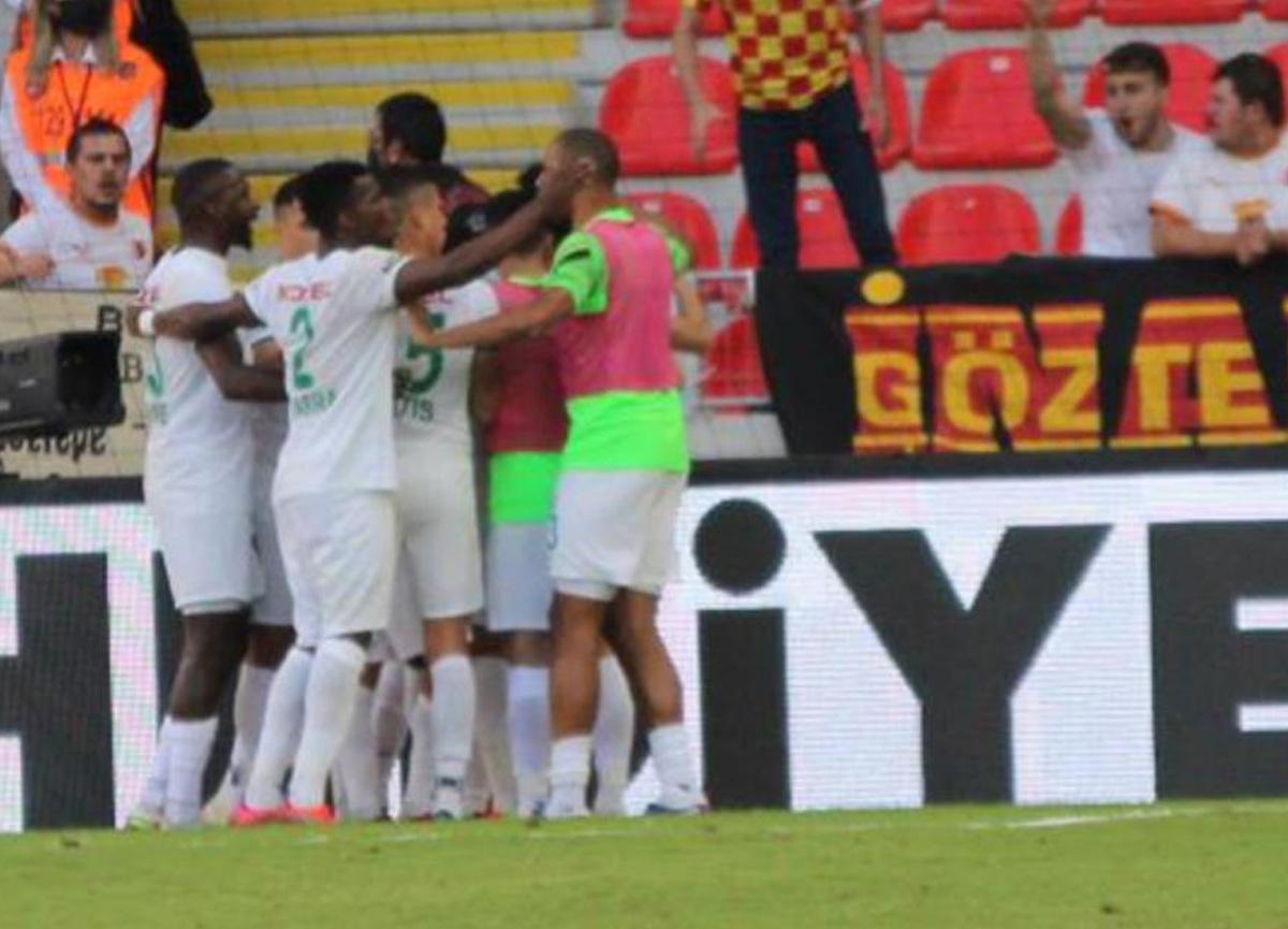 Göztepe'yi yenen Giresunspor, Süper Lig'de 25 maç sonra kazandı