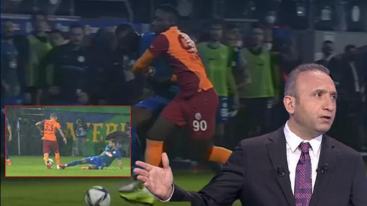 Rizespor-Galatasaray maçında olay! 'Gol kesinlikle iptal, bir de kırmızı kart...'