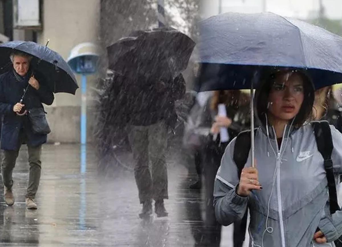 Meteoroloji'den İstanbul için kuvvetli yağış uyarısı!