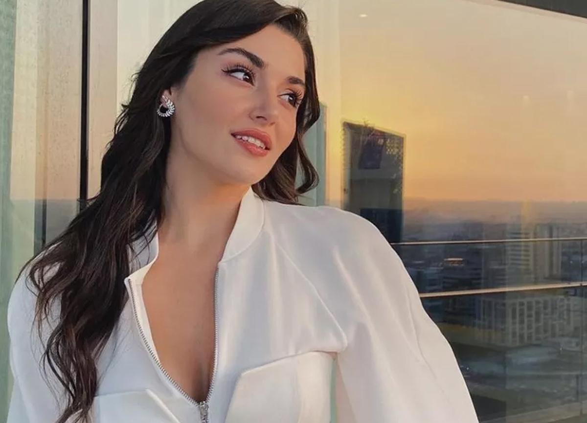Oyuncu Hande Erçel'in ekran fotoğrafı görenleri duygulandırdı