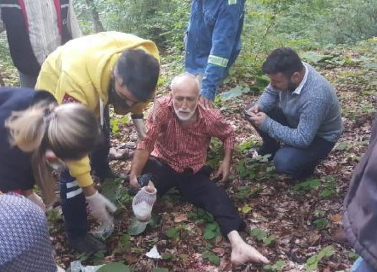 Kestane toplamak için gittiği ormanda kendini vurdu