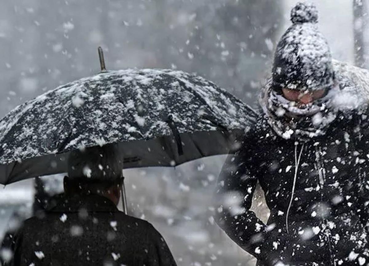 Meteoroloji'den kar ve kuvvetli yağmur uyarısı!