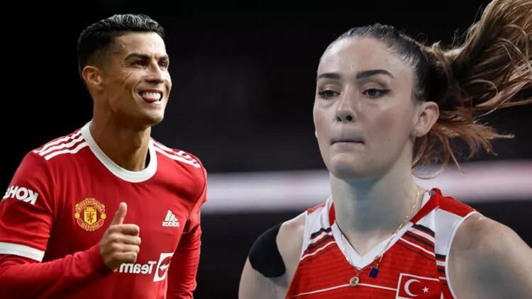 Milli voleybolcu Zehra Güneş'ten Cristiano Ronaldo itirafı!