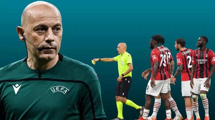 UEFA, Cüneyt Çakır için kararını verdi! Milan-Atletico Madrid maçındaki kararları olay olmuştu