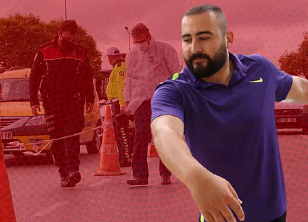 Milli diskçi Berke İnaloğlu, trafikte tartıştığı taksi sürücüsünün silahlı saldırısına uğradı