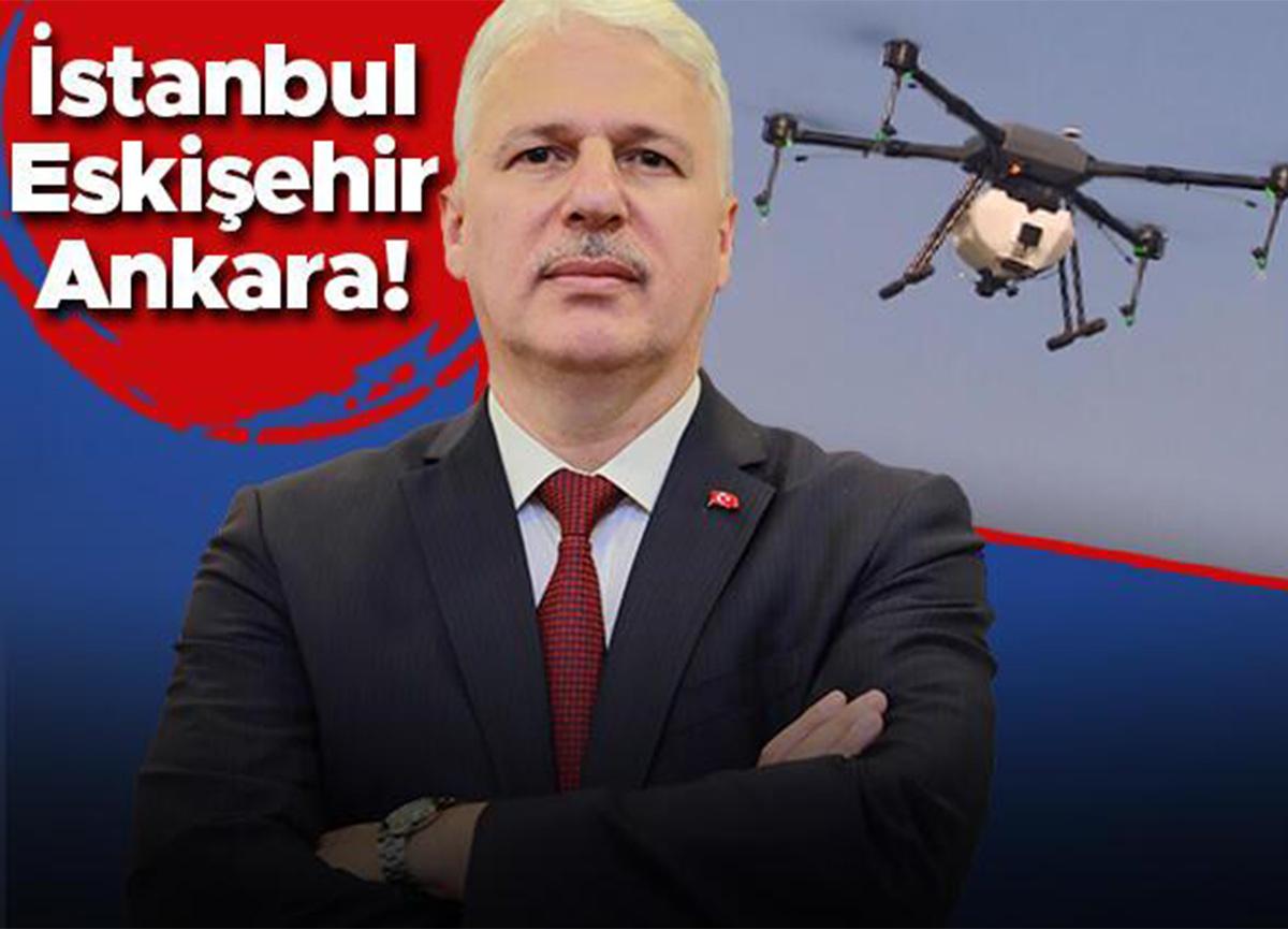 Kargoda drone dönemi! Pilot güzergah belirlendi