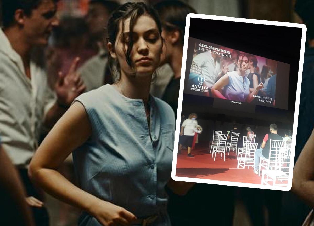 Filmdeki sahneler 3 seyirciye baygınlık geçirtti: Hastaneye kaldırıldılar