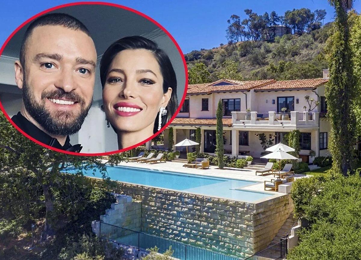Justin Timberlake ile Jessica Biel evlerini 35 milyon dolara satıyor