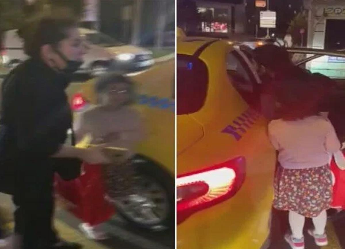 Ataşehir'de çocuklu bir kadını almayan takisiciye men cezası