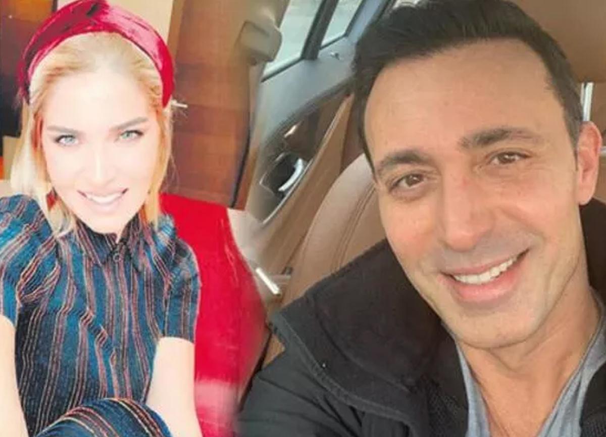Melis Sütşurup ile Mustafa Sandal'dan romantik poz!
