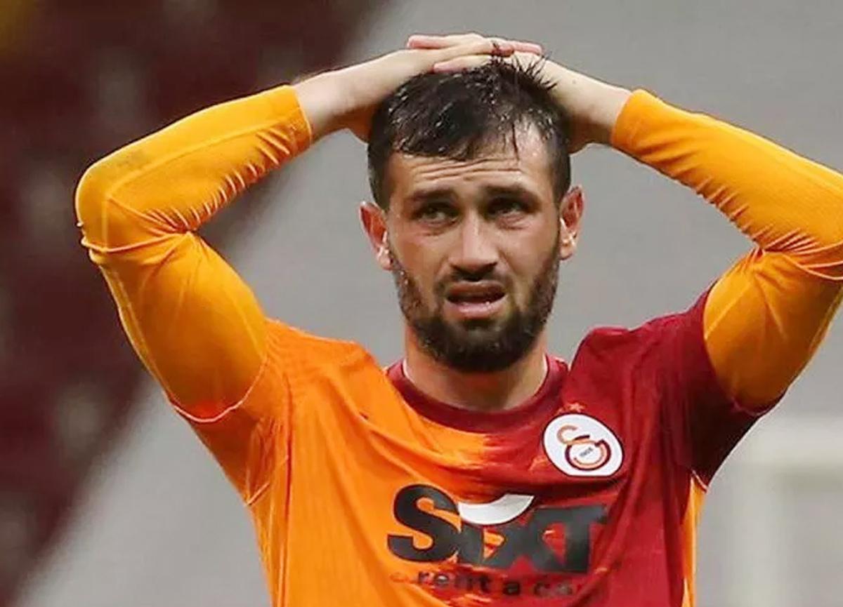 Galatasaraylı futbolcu Ömer Bayram'dan şaşırtan hareket!