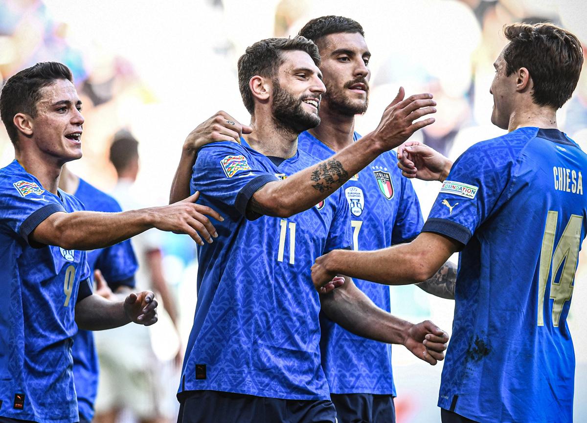 UEFA Uluslar Ligi'nde İtalya bronz madalya kazandı