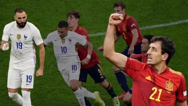 Fransa-İspanya finalinde muhteşem geri dönüş! Benzema geceye damga vurdu