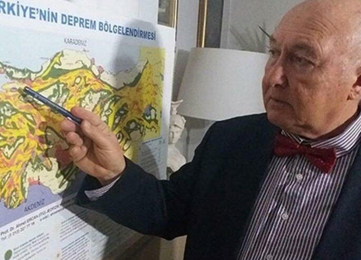 Prof. Dr. Övgün Ahmet Ercan, Girit'teki depremi bildi, Türkiye için yorumladı