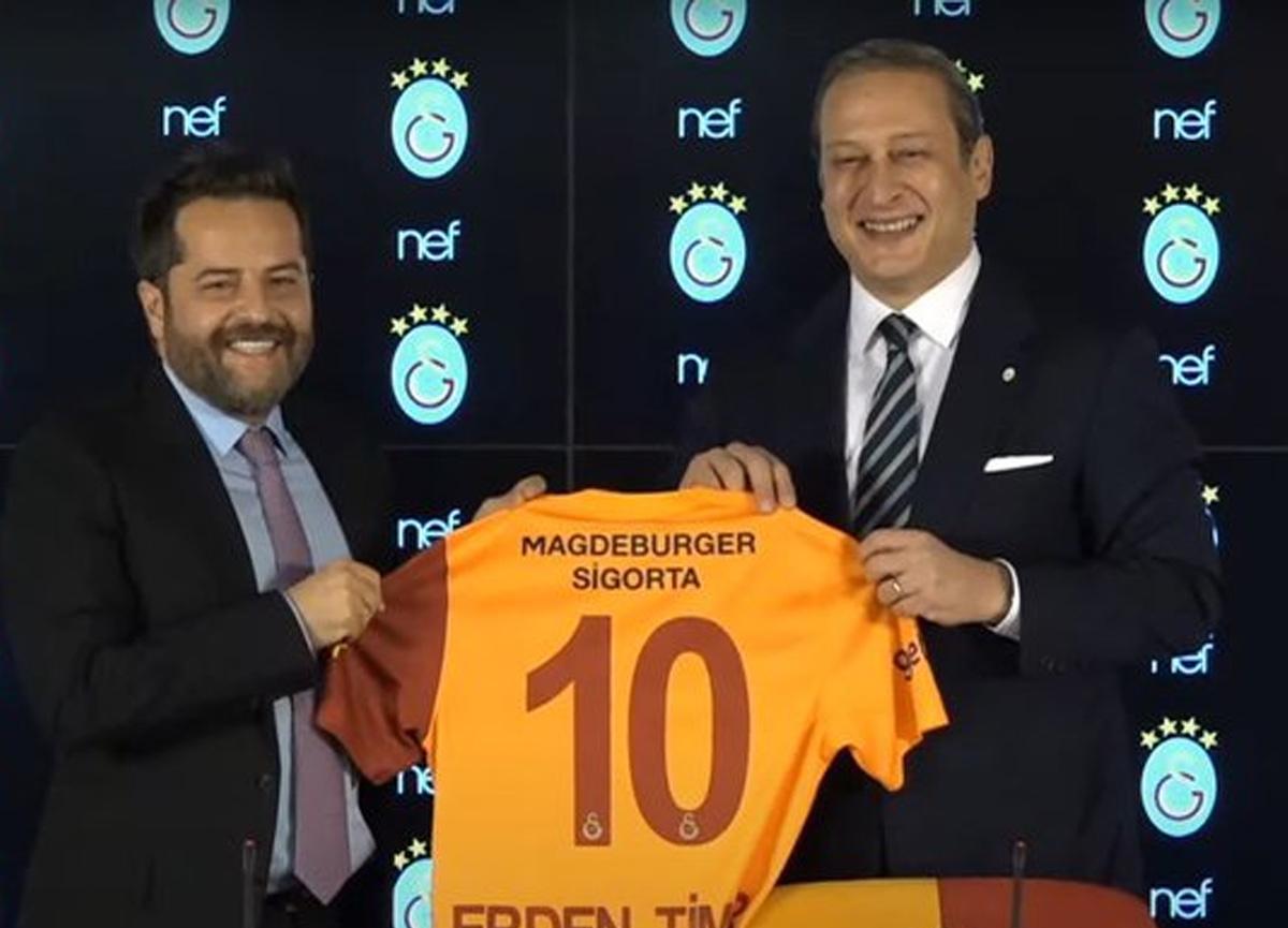 Galatasaray ile NEF arasında sponsorluk anlaşması imzalandı