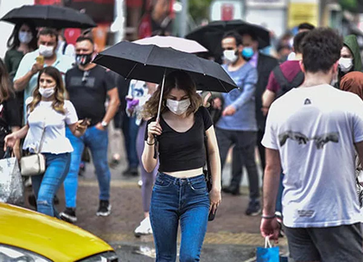 Meteoroloji!den kuvvetli yağış uyarısı geldi!