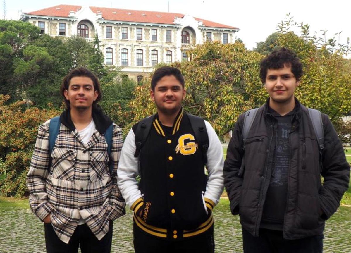 Boğaziçili üç öğrenciye Uluslararası Matematik Olimpiyatları'nda madalya
