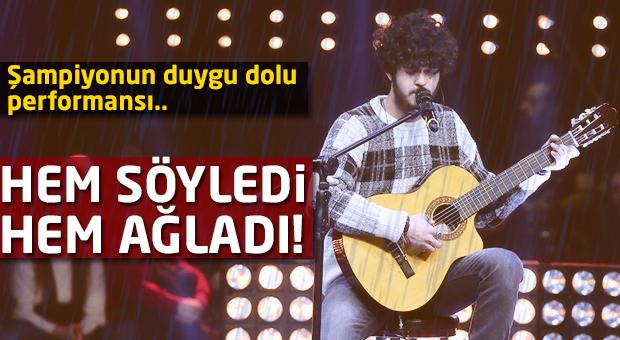 Emre Sertkaya O Ses Türkiye'nin final haftasında neler yaşadı?