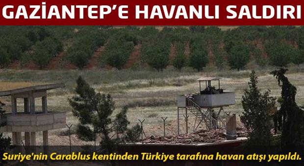 Gaziantep'e havan toplu saldırı
