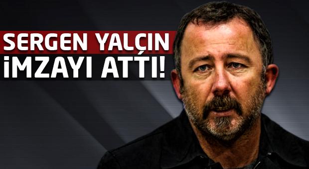Sergen Yalçın Gaziantepspor ile anlaşma sağladı!