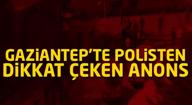 Gaziantep'te polisten 'sahte ambulans' anonsu