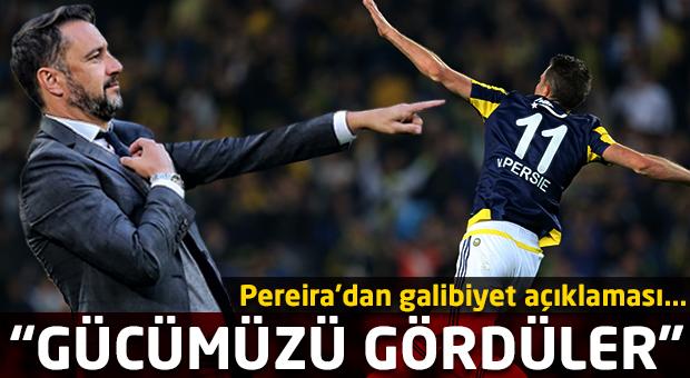 Pereira'dan maç sonu açıklama!