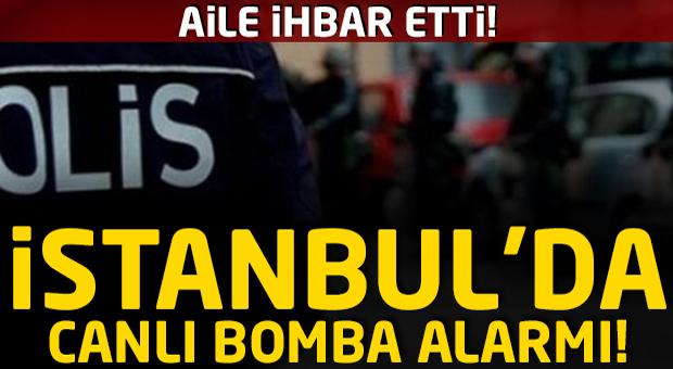 İstanbul'da polisi harekete geçiren canlı bomba ihbarı