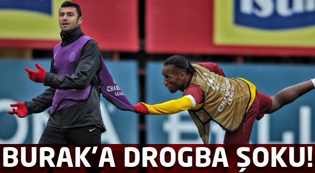 Burak Yılmaz'a Galatasaray'dan Twitter şoku!