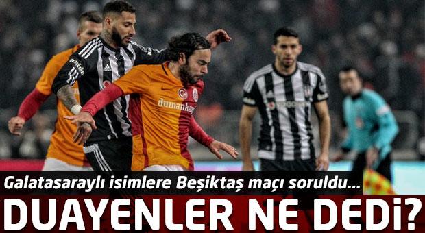 Galatasaray duayenleri Beşiktaş maçında galibiyet istiyor