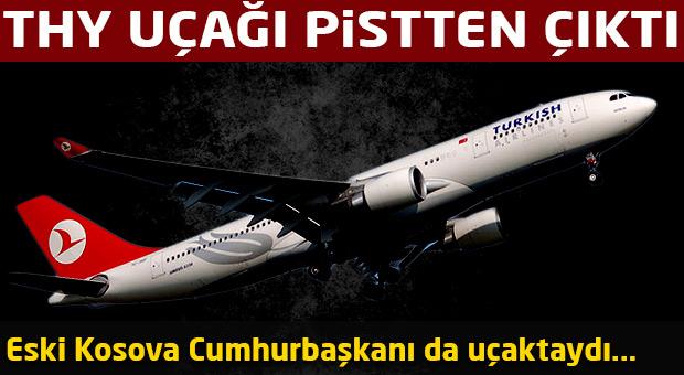 Eski Kosova Cumhurbaşkanı THY uçağında tehlike atlattı