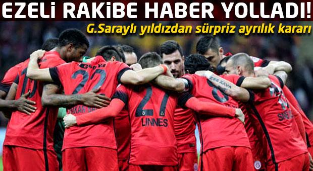 Galatasaraylı yıldız Fenerbahçe'ye haber yolladı!