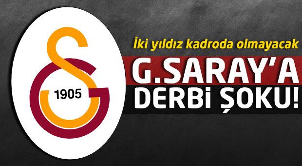 Galatasaray'a derbi öncesi Chedjou ve Semih'ten kötü haber