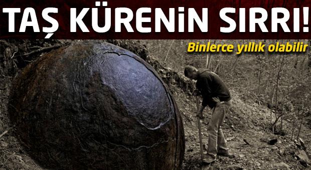 Bosna'da bulunan taş kürenin sırrı çözülemedi