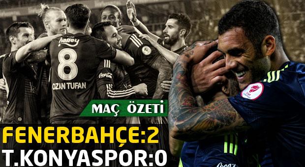 Fenerbahçe:2 Torku Konyaspor:0 | Maç Özeti