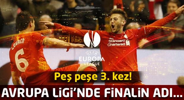 Avrupa Ligi'nde finale çıkan takımlar belli oldu!